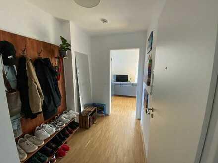 Neuwertige 2-Zimmer-Wohnung mit Balkon und Einbauküche in Münster