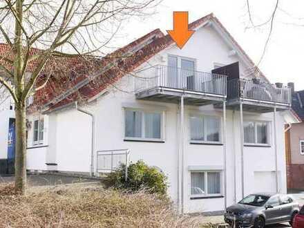 Gemütliche 2 Zimmer-Dachgeschosswohnung mit Balkon