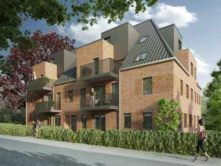 Erstbezug: Gut geschnittene 4-Zimmer-Terrassenwohnung mit Gartennutzung in Kirchsteinbek