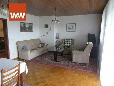 Wohnen mit Weitsicht! Großzügige 3 Zimmer Wohnung mit großer Terrasse und Gartennutzung!