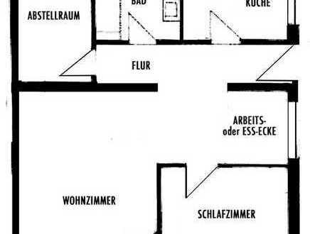 Gepflegte 2,5-Zimmer-Terrassenwohnung mit Balkon in Homburg-Kirrberg