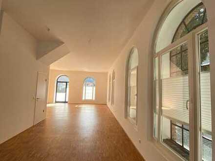 Wohnen im Loftstil - modernes Reihenendhaus mit 4 Zimmern und Terrasse ab sofort zu vermieten