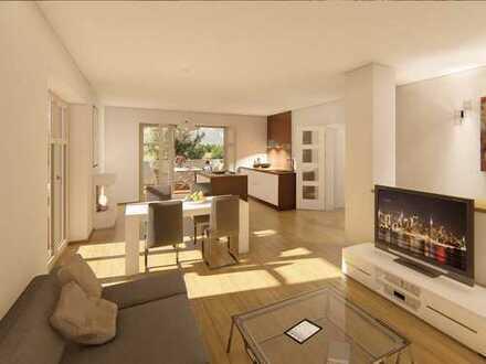Herrschaftlich ausgestattete 4-Zi.-Wohnung mit umlaufender Terrasse direkt Am Jungfernsee