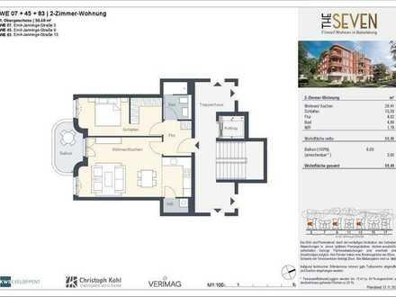 Gemütliche 2-Zimmer-Wohnung mit Süd-Balkon