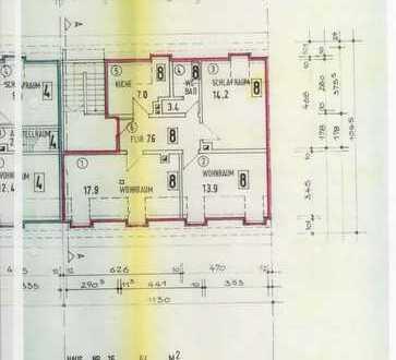 Attraktive, sanierte 3-Zimmer-Dachgeschosswohnung mit Küche/Bad in Musikerviertel, Karlsruhe