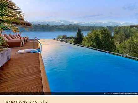 Beste Adresse: Einmaliger Baugrund für Bauhaus-Villa mit Weitblick-Infinity-Pool