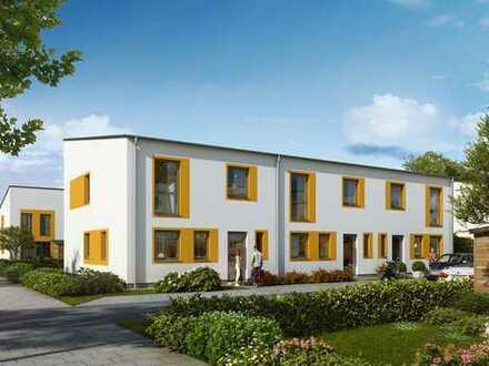 Modernes Reiheneckhaus mit hervorragenden Gestaltungsmöglichkeiten, großem Garten und 2 Stellplätzen