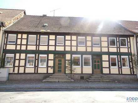 Wohnen im Glanz der Jahrhundertwende Fachwerkhaus sucht Besitzer  Hier fühlen Sie sich wohl!