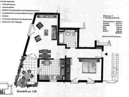 Moderne Zweizimmer-Wohnung von Privat