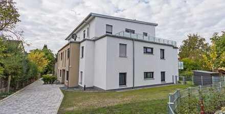 Stilvolle, neuwertige 4-Zimmer-EG-Wohnung mit Terrasse und Einbauküche in Forchheim