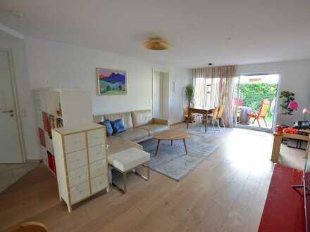 Beste Ausstattung - super Schnitt - ruhige Lage: Neuwertige Garten-Maisonettewohnung in Obermenzing
