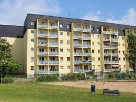 Hoch Wohnen = weniger zahlen, 4-Raum-Wohnung mit Ausblick