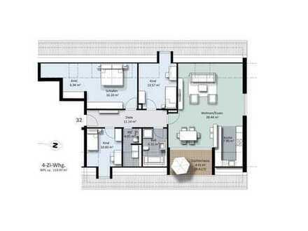Viel Raum & Licht! Traumhafte Dachgeschosswohnung im Zentrum Lechhausens