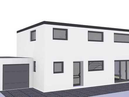 Architektenhaus Schlüsselfertig in massiver Bauausführung vom lokalen Bauunternehmer
