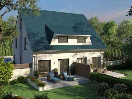 Inkl. erschlossenem Grundstück! Doppelhaushälfte in Neulangsow