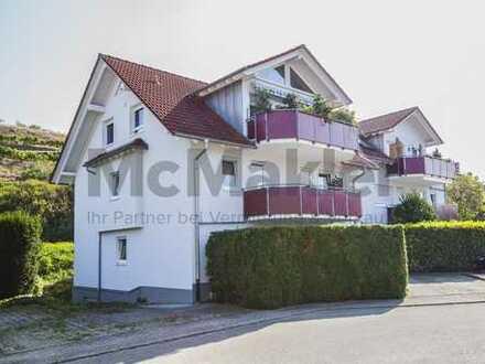 Zwischen Reben leben - Gepflegte 3-Zi.-Wohnung mit Terrasse im malerischen Erholungsort Endingen