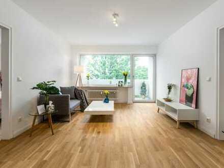 freie und frisch renovierte 2-Zimmer Wohnung in Moosach