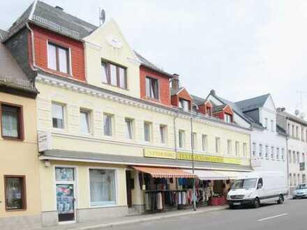 Gewerbeobjekt mit Wohn- und Geschäftshaus in Hartha