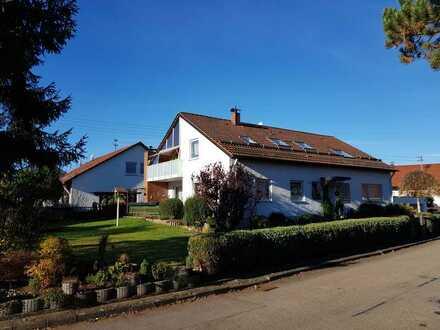 5-Zimmer-EG-Wohnung im Einfamilienhaus (mit eigengenutztem Dachgeschoß) in Schwäbisch Gmünd-Lindach