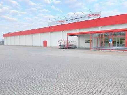 vielseitige Verkaufs- und Lagerfläche mit guter Verkehrsanbindung in Wolfen