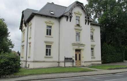 Helle, renovierte und geräumige 2-Raum-Wohnung in denkmalgeschützter Villa
