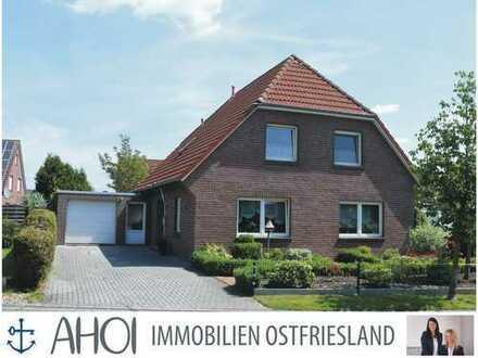 TOP modernisiert & gepflegt! Ihr neues Haus mit Wintergarten und Garage in Sackgassenlage in Loppers
