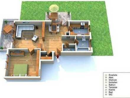 Exklusive, gepflegte 2,5-Zimmer-Wohnung mit Balkon und Einbauküche in 74321 Bietigheim-Bissingen