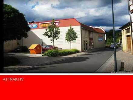ATLAS IMMOBILIEN: Attraktiver Einkaufsmarkt im Zentrum von Schmalkalden