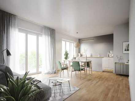 Moderne barrierefreie 2- Zimmer-Wohnung mit Balkon