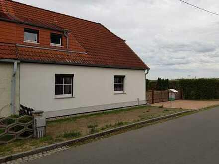 Doppelhaushälfte mit Grundstück nach Komplettsanierung zu vermieten