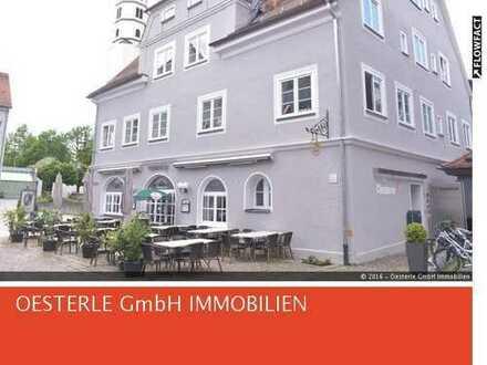 Repräsentatitve Büroräume in denkmalgeschützten Gebäude in der Altstadt von Leutkirch!