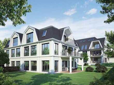 Penthouse mit Dachterrasse in Gartenvilla, Bogenhausen, München