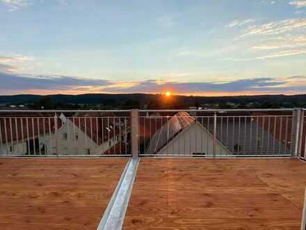 Den Sonnenuntergang genießen und Natur nah Wohnen!!!