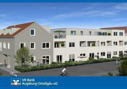 """2,0-Zimmer-Dachgeschosswohnung Neubau Wohnpark """"Am Meisteranger"""" in Weilheim"""