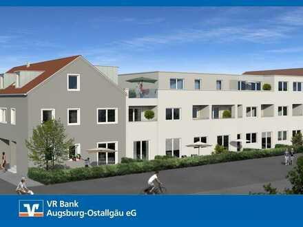 """Neubau Wohnpark """"Am Meisteranger"""" Neubau 2,0-Zimmer-Dachgeschosswohnung Weilheim"""