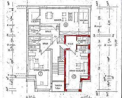 Erstbezug nach Sanierung: freundliche 1-Zimmer-Wohnung in Duisburg