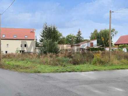 Unbebautes Grundstück in ruhiger, naturnaher Lage bei Leipzig