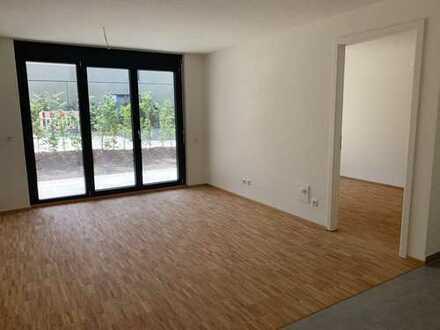 Schöne zwei Zimmer Gartenwohnung in Kaufbeuren, Kaufbeuren (Kernstadt)