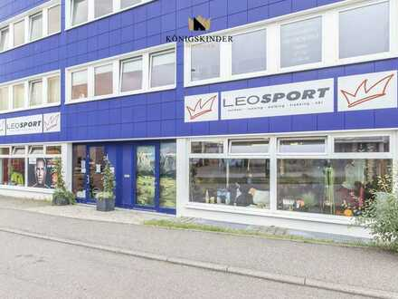 Aufgepasst! Tolle Verkaufsfläche in erstklassiger Lage in Leonberg auch als Wohnraum nutzbar.