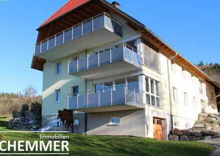 Gutach ++ Attraktive 4-Zi.-Wohnung, 130 m² in herrlicher Naturlage mit schöner Aussicht