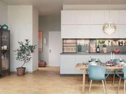 Für alle, die zentral in Frankfurt leben möchten! Großzügige 2-Zimmer-City-Wohnung auf ca. 70 m²