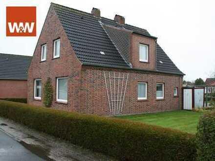 Küstenahes Einfamilienhaus mit Garage in Ostfriesland!