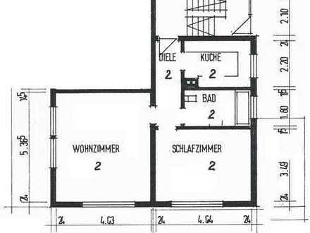 ruhige und helle 2-Zimmer-Wohnung in Esslingen-Zell