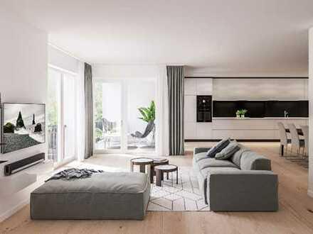 Zeitgemäße 4-Zimmer-Wohnung mit kommunikativem Wohnbereich, Loggia und Balkon in bevorzugter Lage