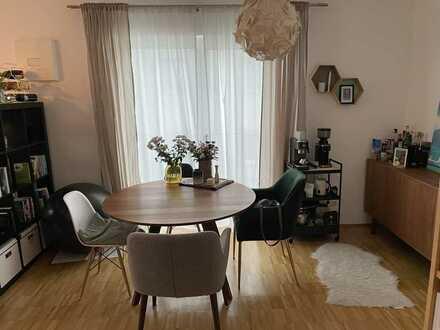 Moderne 2-Zimmer-Wohnung mit Balkon in kleiner Wohnanlage