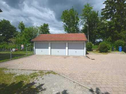 Grundstück mit 3 Garagen und weiterem Potenzial in Bad Schussenried