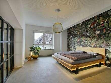 Möbliertes Luxusloft mit Sauna