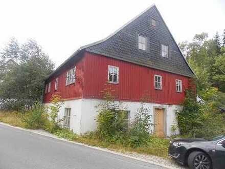 Sanierungsbedürftiges Einfamilienhaus in Morgenröthe-Rautenkranz