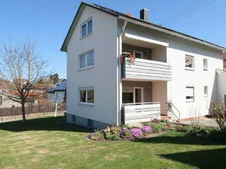 Weidach (Blaustein) helle und gepflegte 3-Zi.-Wohnung im EG mit Garage und Gartenmitbenutzung