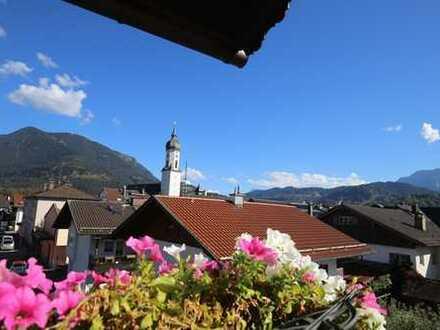 *ÜBER DEN DÄCHERN von Garmisch! Komplett ausgestattete, voll möblierte Whg im Herzen v. Garmisch**